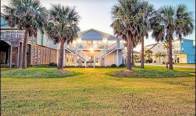 Galveston Single Family Home For Sale: 4103 Defender Lane