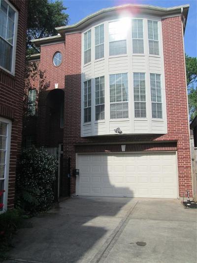 Houston Condo/Townhouse For Sale: 1522 Park