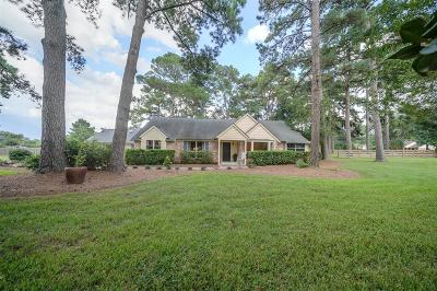 Tomball Single Family Home For Sale: 23202 Lutheran Cemetery Road