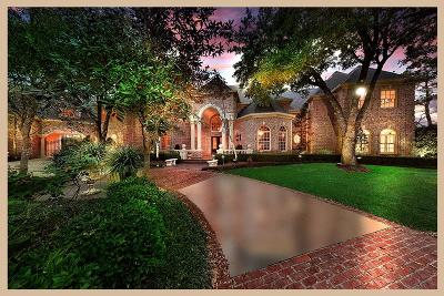 The Woodlands TX Single Family Home For Sale: $1,800,000