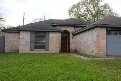 Houston TX Single Family Home For Sale: $145,000