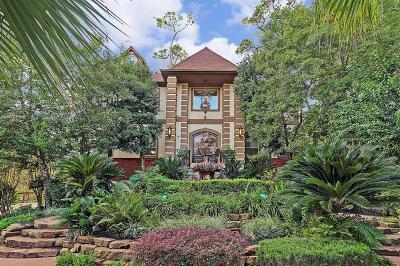 Hunters Creek Village Single Family Home For Sale: 1 E Magnolia Bend Drive