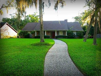 Single Family Home For Sale: 15322 Wandering Trail