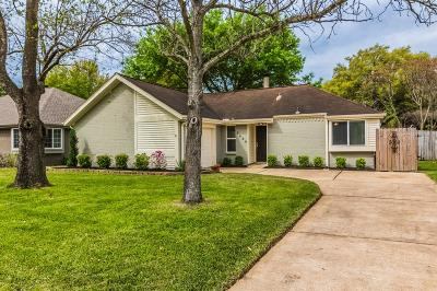 Katy Single Family Home For Sale: 2629 Village Court