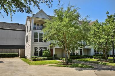 Houston Condo/Townhouse For Sale: 3003 S Heights Hollow Lane