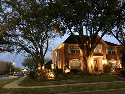 Pasadena Single Family Home For Sale: 4603 Merion Circle