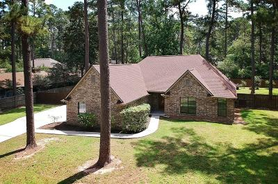 Willis Single Family Home For Sale: 15634 Sunfish Road