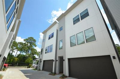 Houston Single Family Home For Sale: 9611 Marlive Lane #D
