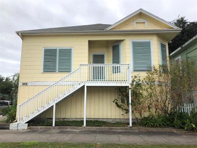 Galveston Single Family Home For Sale: 1919 33rd Street