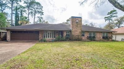 Houston Single Family Home For Sale: 3813 Brookwoods Drive