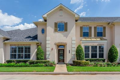 Sugar Land Condo/Townhouse For Sale: 4319 Lake Run Drive