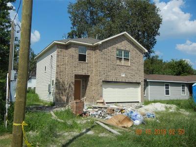 Houston Single Family Home For Sale: 1417 Frawley Street