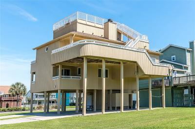 Galveston Single Family Home For Sale: 13649 Pirates Beach Boulevard