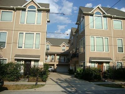 Houston Condo/Townhouse For Sale: 1406 Malone Street #C