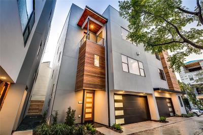 Houston Single Family Home For Sale: 1311 Castle Court #B