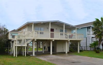 Galveston Single Family Home For Sale: 4022 Navarro