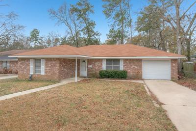 Conroe TX Single Family Home For Sale: $129,900