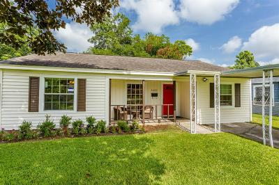 Houston Single Family Home For Sale: 1603 Tabor Street
