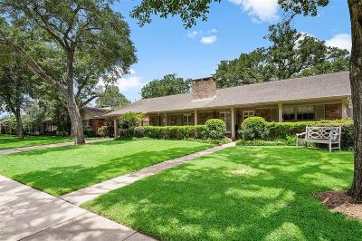 Houston Single Family Home For Sale: 6248 Olympia Drive