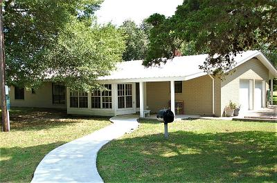 Round Top Single Family Home For Sale: 151 NW Floyd Lane
