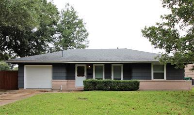 Houston Single Family Home For Sale: 8523 Cayton Street