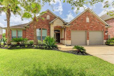 Manvel Single Family Home For Sale: 3014 Brahman Drive