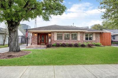Houston Single Family Home For Sale: 3814 Childress