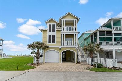 Galveston Single Family Home For Sale: 3815 Neptune