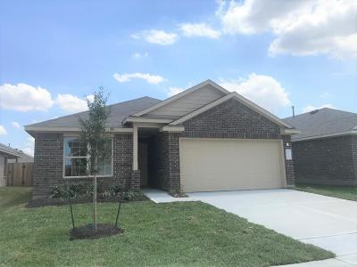 Channelview Single Family Home For Sale: 15438 Cipres Verde