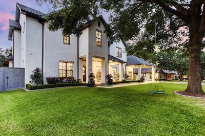 Houston Single Family Home For Sale: 1721 Creek Drive
