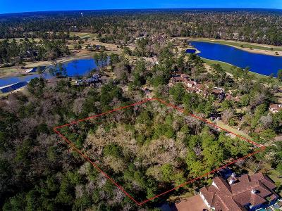 The Woodlands Residential Lots & Land For Sale: 10 Grand Regency Circle