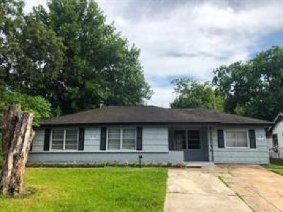 Houston Single Family Home For Sale: 5626 Belneath Street