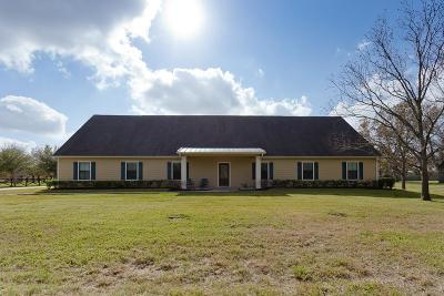 New Territory Single Family Home For Sale: 4632 Pecan Grove Road