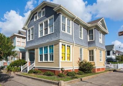 Galveston Rental For Rent: 2402 Bernardo De Galvez Avenue #upper