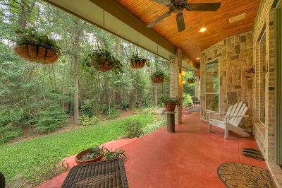 Conroe Single Family Home For Sale: 10361 Paradise Valley