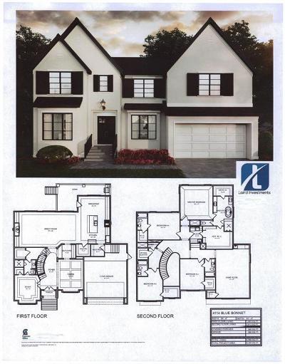 Houston Single Family Home For Sale: 4114 Blue Bonnet Boulevard