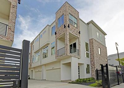 Houston Single Family Home For Sale: 6009 San Felipe Street