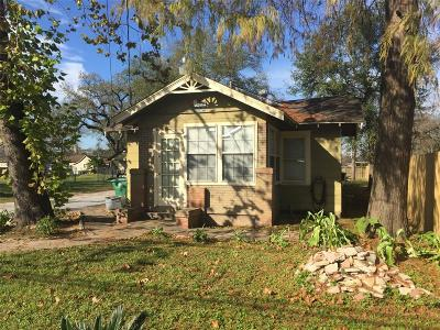 Houston Single Family Home For Sale: 219 Lindale Street