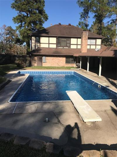 Conroe Single Family Home For Sale: 304 Brook Hollow Drive