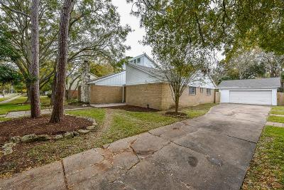 Houston TX Single Family Home For Sale: $319,000