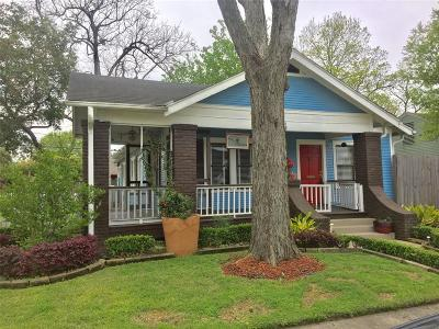 Houston Single Family Home For Sale: 802 Fugate Street
