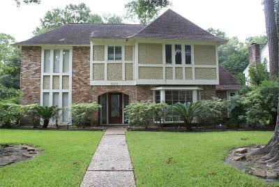 Houston Single Family Home For Sale: 5303 Pebble Springs Drive