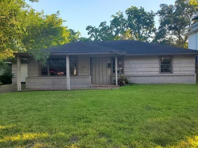 Bellaire Single Family Home For Sale: 4708 Maple Street
