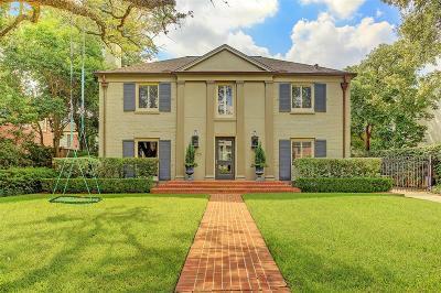 River Oaks Single Family Home For Sale: 2515 Reba Drive