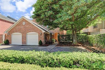Houston TX Single Family Home For Sale: $749,999