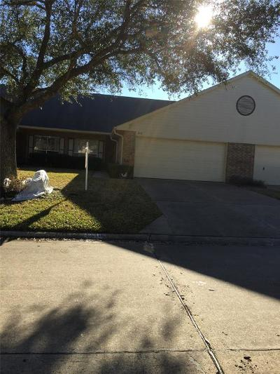 Pearland Condo/Townhouse For Sale: 3610 Teakwood