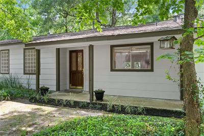 The Woodlands Single Family Home For Sale: 1105 E Red Cedar Circle