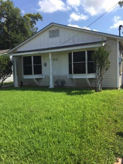 Sugar Land Single Family Home Pending: 802 E Park Street