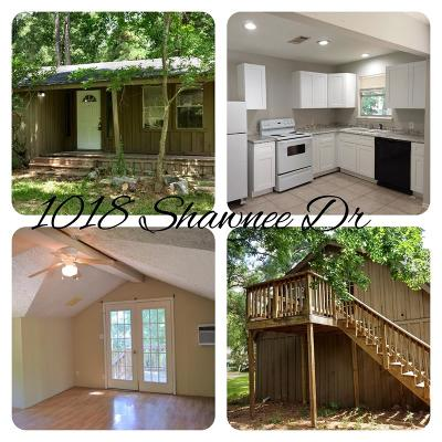 Montgomery Single Family Home For Sale: 1018 Shawnee Drive