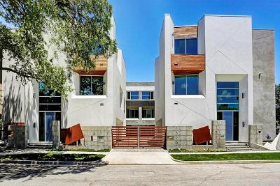 Houston Single Family Home For Sale: 1517 Palm Street